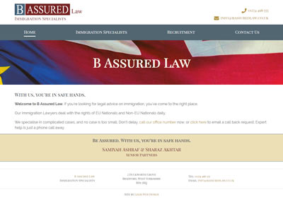 B Assured Law Website